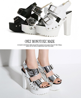 [MS0028M] JOOJOO <br> White / Silver / Black 13cm