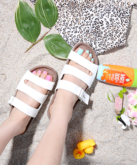 [RS3126] TEBED <br> White / Gray / Black 0.5cm