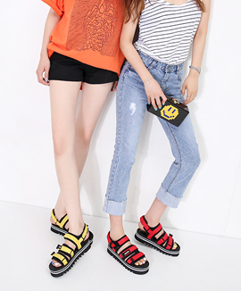 [RS3513] BEDESHI <br> Red / Yellow / Navy 4cm